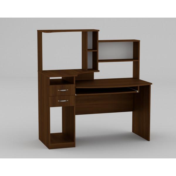 Стол компьютерный Комфорт 4 Орех Экко