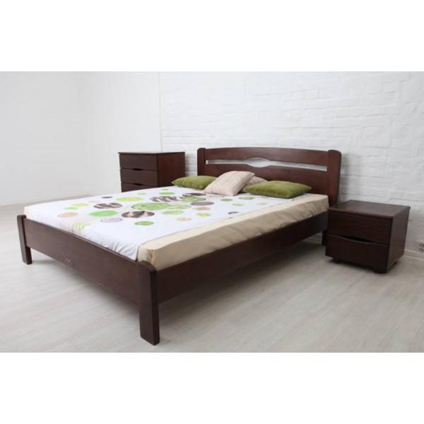 Кровать Каролина 140 без изножья бук
