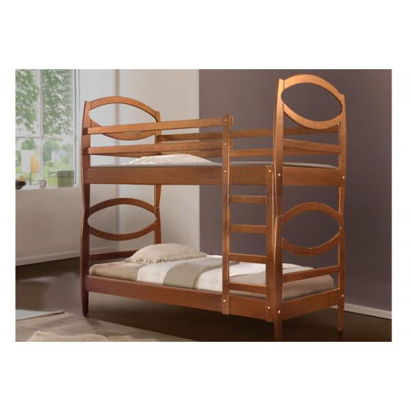 Кровать двухъярусная Виктория ольха