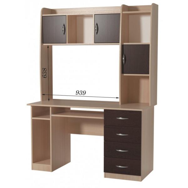 Стол письменный СПК-08 + Н-16