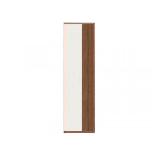 Шкаф Ари Слива-Белый глянец SZF2D
