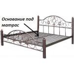 Металлическая кровать Монро 1400х1900