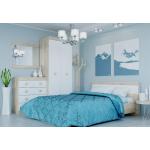 Кровать 1600 Соната Дуб Сонома + Белый