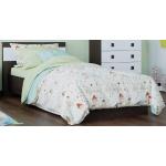 Кровать 900 Соната Венге Темный + Белый
