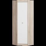 Угловой Шкаф Соната 700 Дуб Сонома + Белый