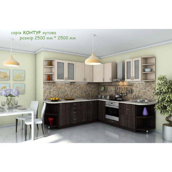 Кухня Модест угловая 2500*2500 мм